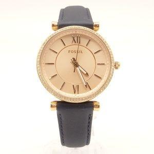 NEW FOSSIL Carlie Crystal Watch ES4485 $115 💋